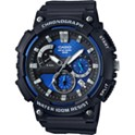 Casio 53.5mm Chronograph Black Resin Strap Men's Watch