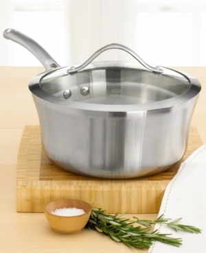 Calphalon Contemporary Stainless Steel 3.5 Qt. Sauce Pan