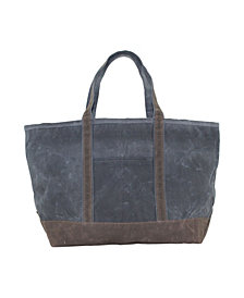 CB Station Waxed Canvas Large Boat Tote