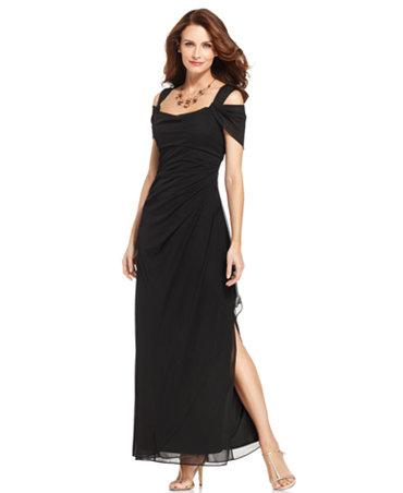 5b62c576ac Black Flat Sandals  Macys Evening Gowns