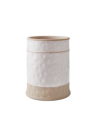Peri Textured Paisley Waste Basket