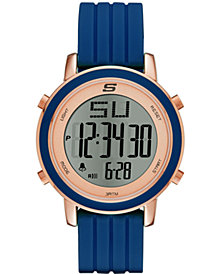 Skechers Women's Westport Silicone Strap Watch 40mm