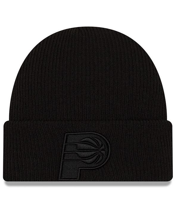 New Era Indiana Pacers Blackout Knit Hat