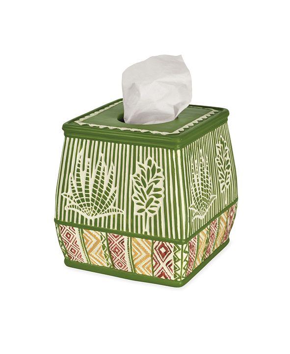 Destinations Cactus Tissue Box Cover