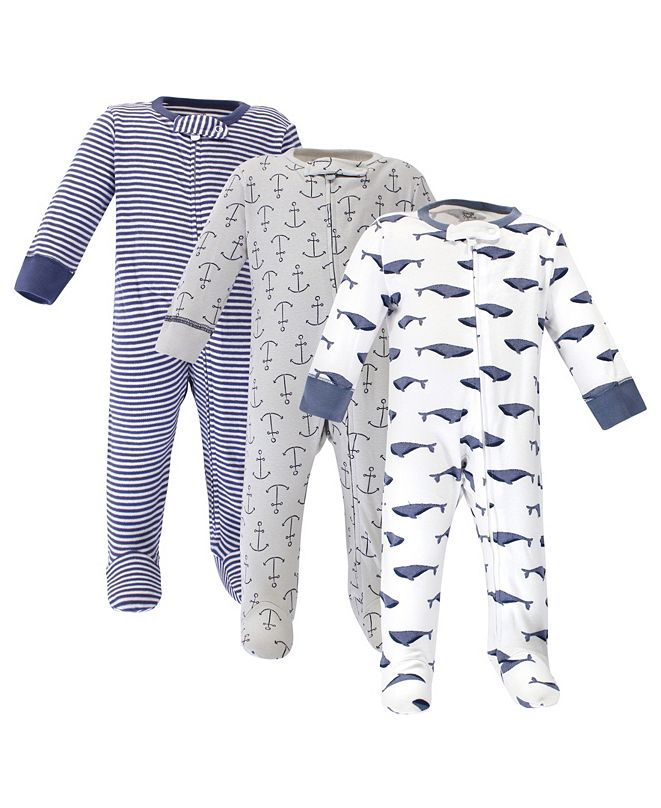 Touched by Nature Baby Boy and Girl Sleep and Play, Set of 3