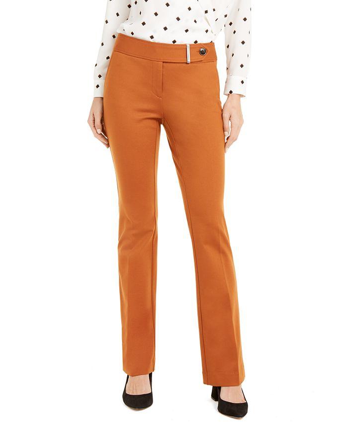 Alfani - Tummy-Control Extended-Tab Trousers