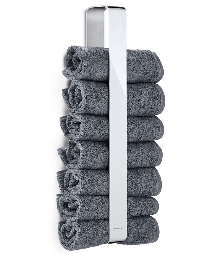 blomus - Stainless Steel Towel Holder - Polished