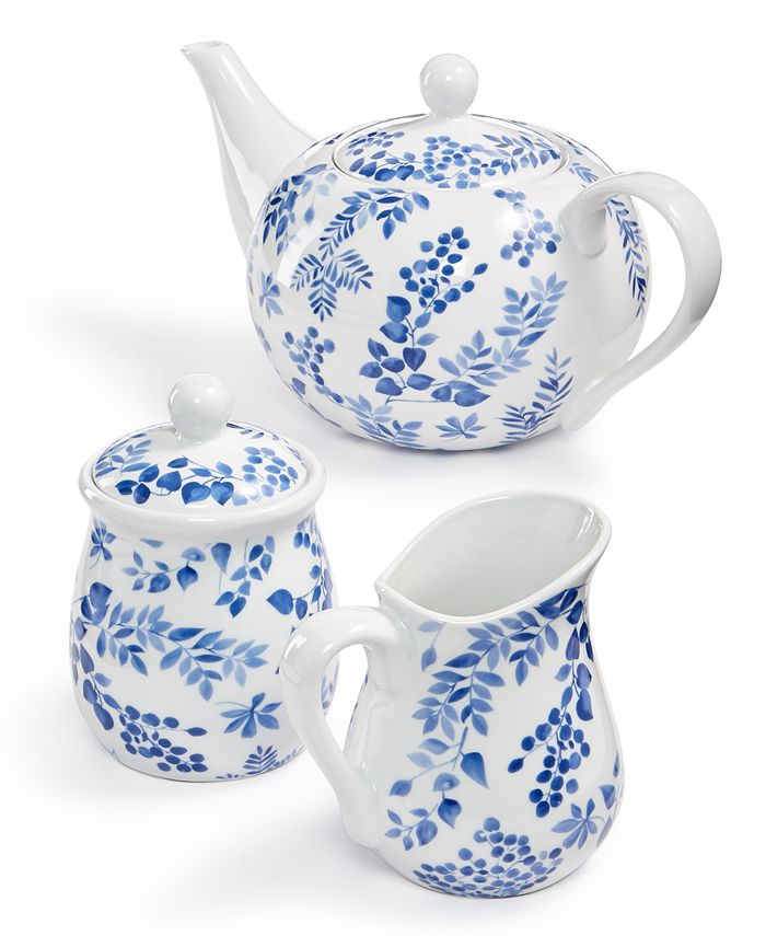 Martha Stewart Collection - English Garden Tea Set, Created For Macy's