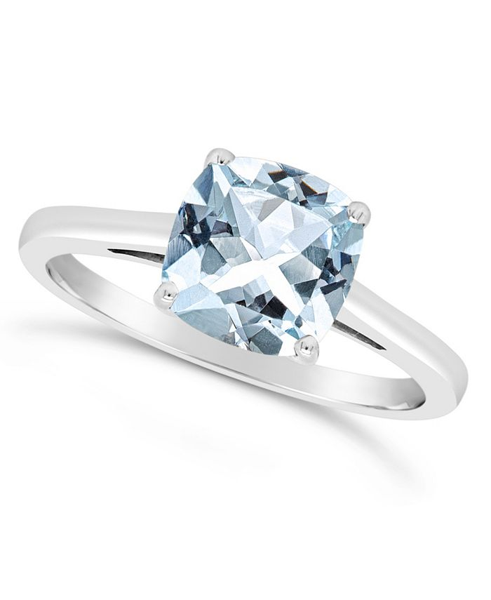 Macy's - Sky Blue Topaz (2-3/4 ct. t.w.) Ring in Sterling Silver