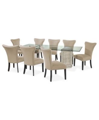 Ailey 9 Piece Dining Room Furniture Set - Furniture - Macy\'s