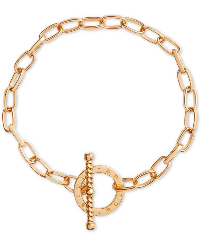 Olivia Burton - Crystal Link Toggle Bracelet