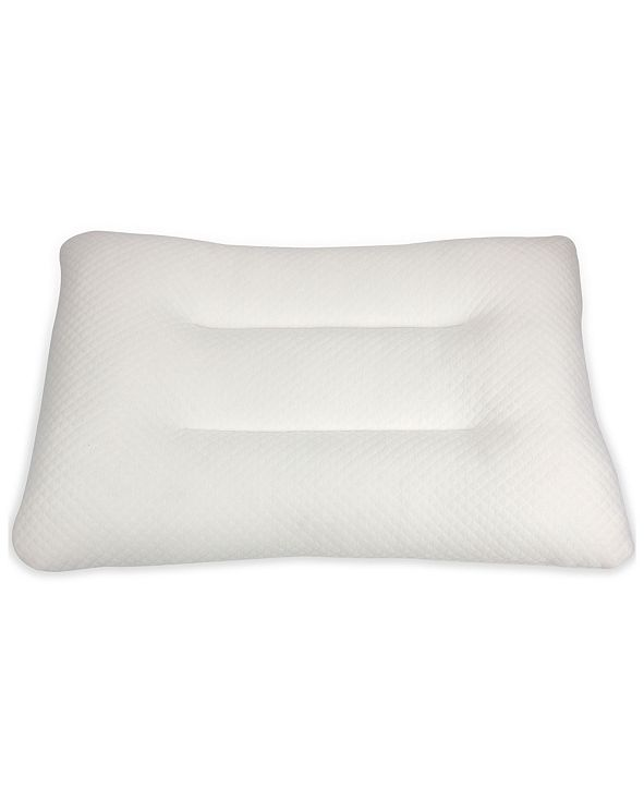 "Cheer Collection Latex Pillow, 18"" x 28"""