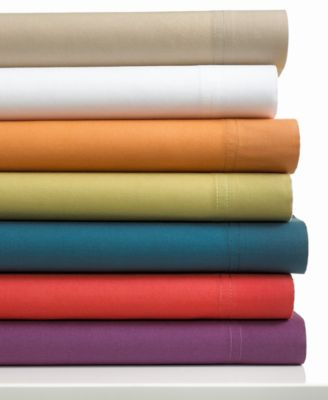 Bar III Solid Queen Sheet Set