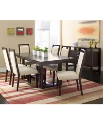 belaire dining table - furniture - macy's
