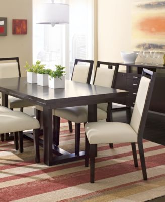 Belaire Dining Table Furniture Macys - Macys dining room sets