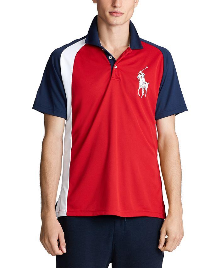 Polo Ralph Lauren Men's Classic Fit Performance Polo Shirt ...