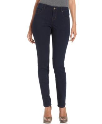 Image of Style & Co. Petite Curvy-Fit Skinny Jeans, Only at Macy's