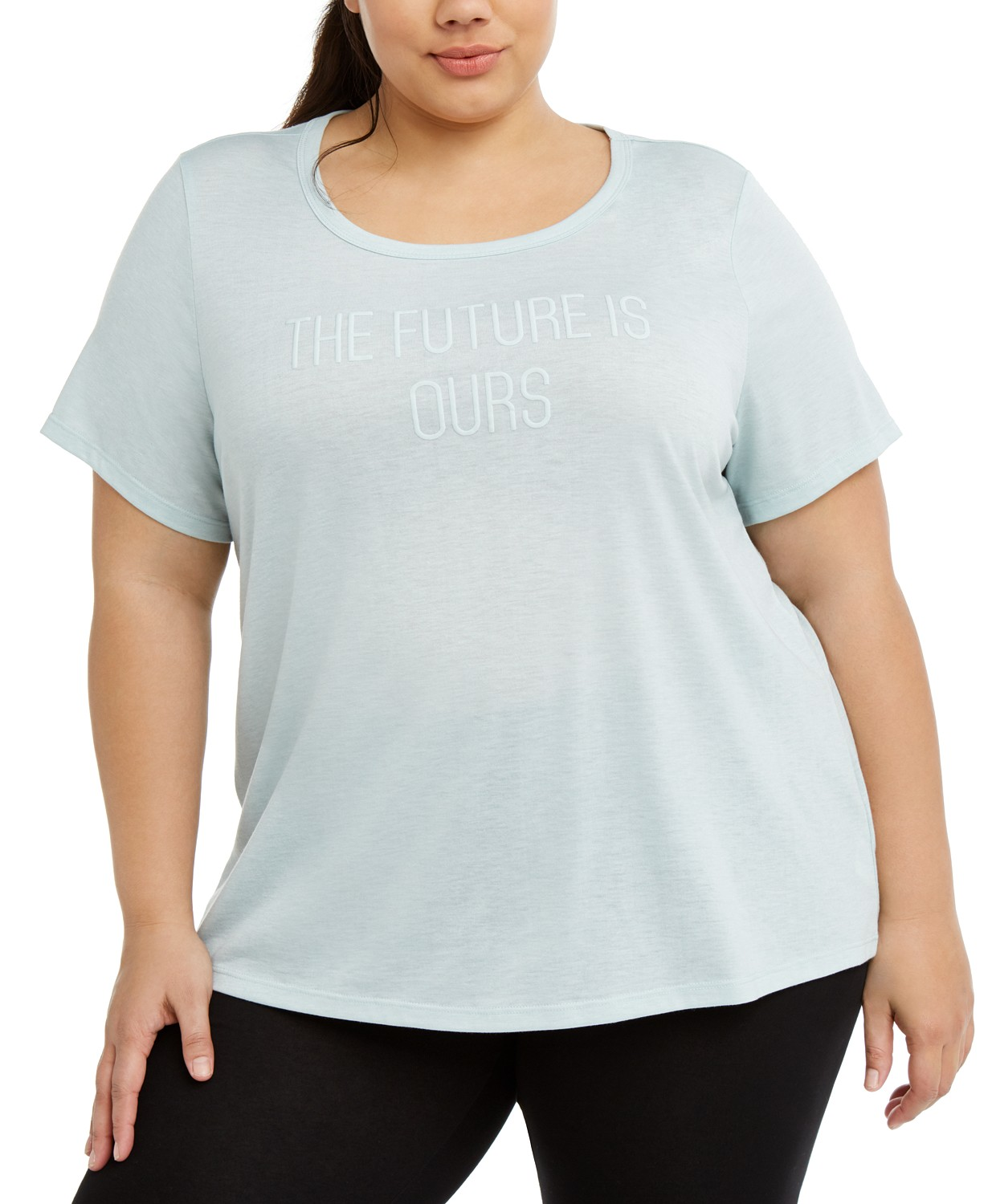 (80% OFF Deal) Plus Size Active Graphic T-Shirt $6.86