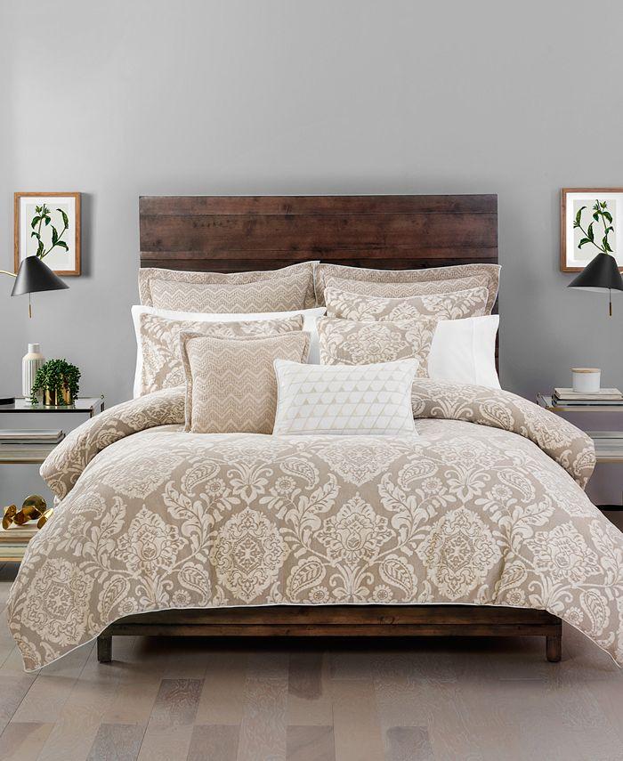 Croscill Grace Queen Comforter Set, Earth Tone Bedding Collections