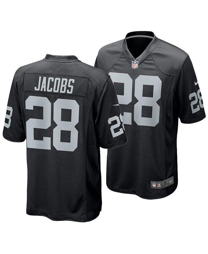 Men's Josh Jacobs Las Vegas Raiders Game Jersey