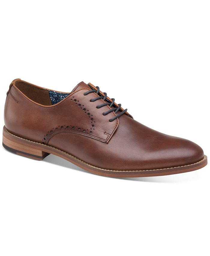 Johnston & Murphy - Men's Haywood Plain-Toe Oxfords