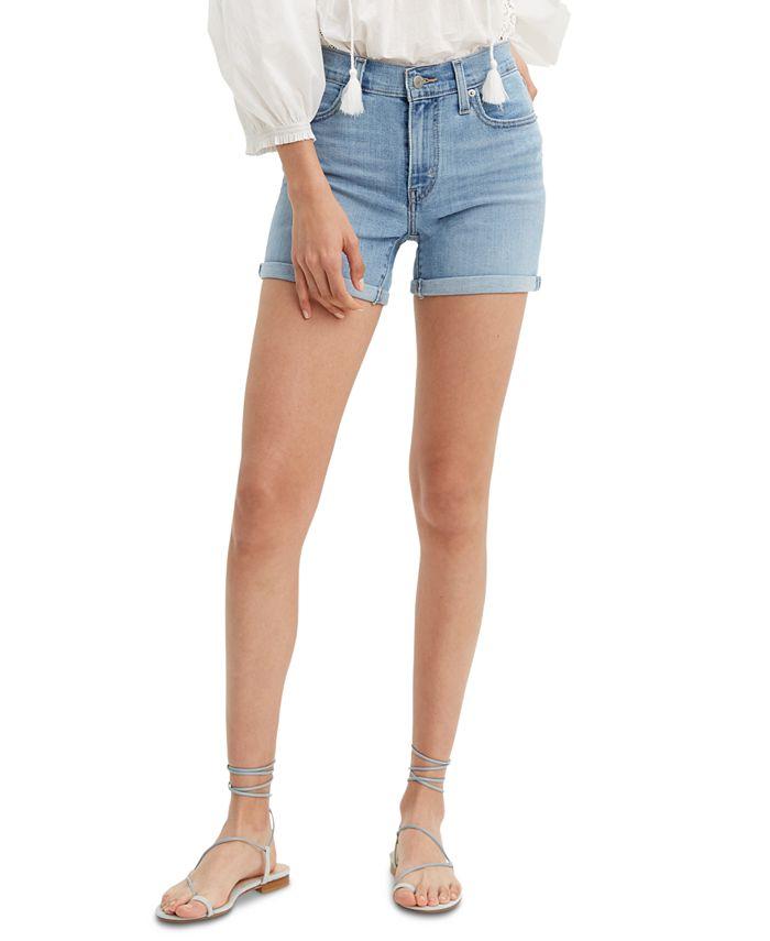 Levi's - Mid-Length Jean Shorts