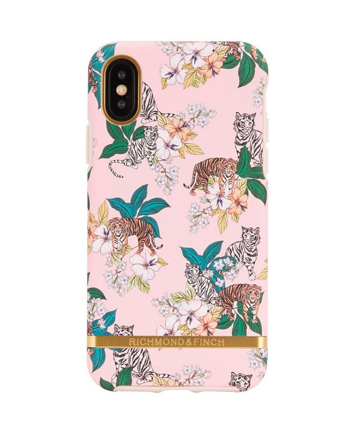 Richmond&Finch - Pink Tiger Case for iPhone XS MAX