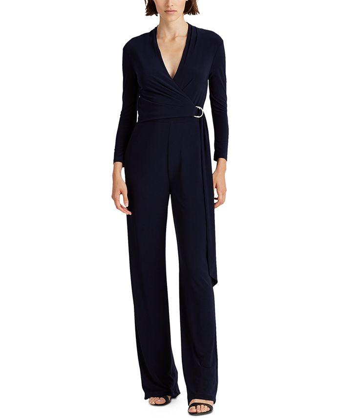 Lauren Ralph Lauren - Belted Jersey Jumpsuit