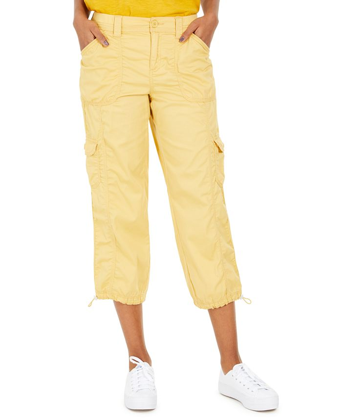 Style & Co - Curvy-Fit Cargo Capri Pants