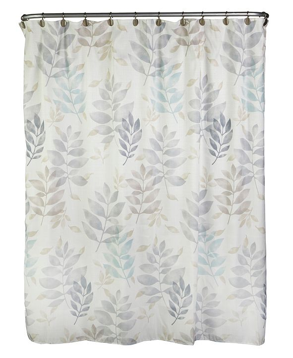 SKL Home Pencil Leaves Shower Curtain