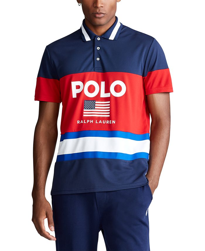 Polo Ralph Lauren Men's Custom Slim Fit Performance Piqué Polo ...