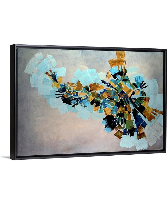 "GreatBigCanvas - 36 in. x 24 in. ""Kaleidoscope"" by  Kari Taylor Canvas Wall Art"
