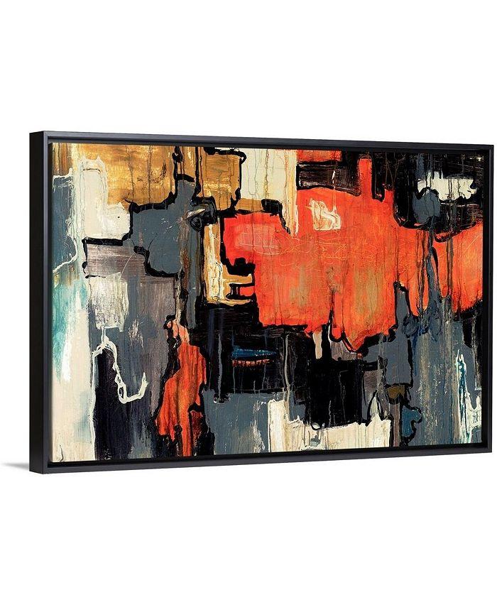 """GreatBigCanvas - 36 in. x 24 in. """"Dalliance"""" by  Joshua Schicker Canvas Wall Art"""