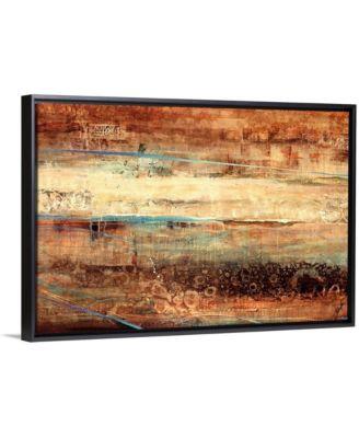 """'Subterranean Blues' Framed Canvas Wall Art, 24"""" x 16"""""""