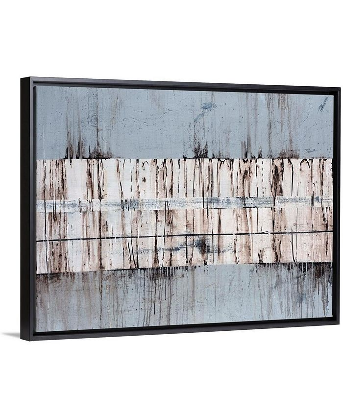 """GreatBigCanvas - 40 in. x 30 in. """"Granite"""" by  Sydney Edmunds Canvas Wall Art"""
