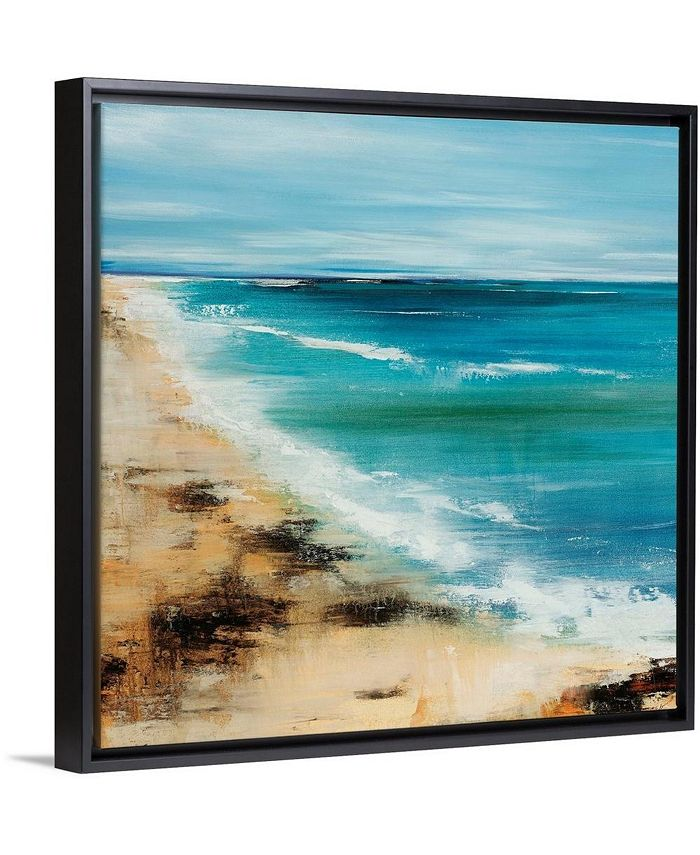 "GreatBigCanvas - 24 in. x 24 in. ""Coastal Breeze"" by  Sydney Edmunds Canvas Wall Art"
