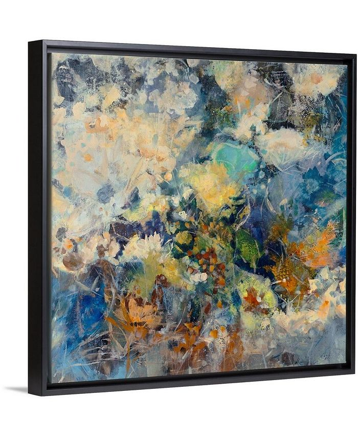 "GreatBigCanvas - 24 in. x 24 in. ""Russian Floral"" by  Jodi Maas Canvas Wall Art"