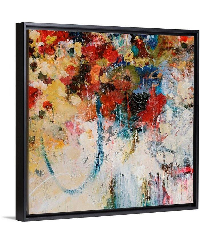 """GreatBigCanvas - 36 in. x 36 in. """"Bouquet Toss"""" by  Jodi Maas Canvas Wall Art"""