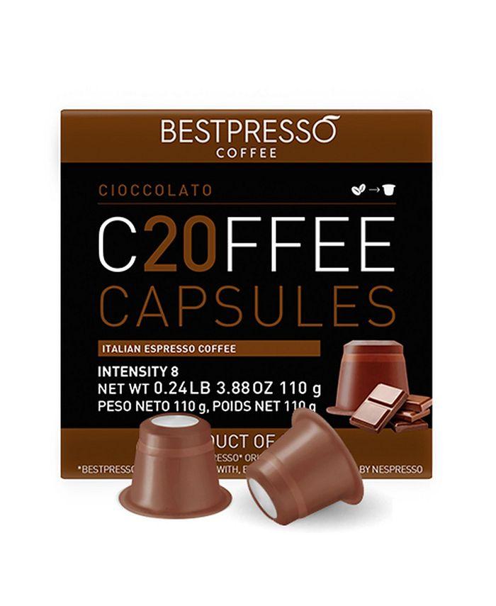 Bestpresso - Chocolato Flavor 20 Capsules per Pack