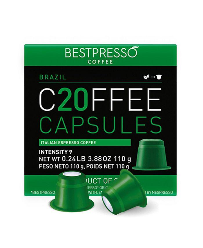 Bestpresso - Brasil Flavor 20 Capsules per Pack