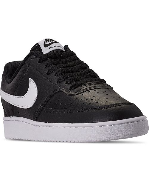 Sedante cubrir Hombre  Nike Men's Nike Court Vision Low Casual Sneakers from Finish Line & Reviews  - Finish Line Athletic Shoes - Men - Macy's