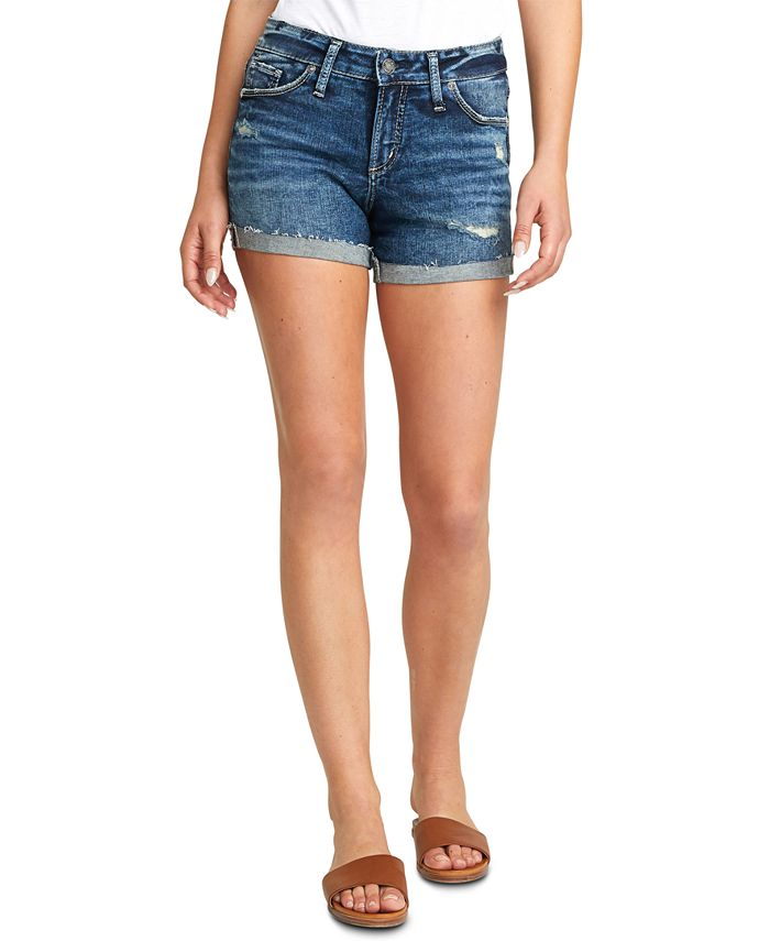 Silver Jeans Co. - Suki Ripped Denim Shorts