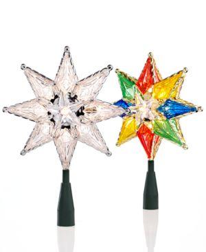 Kurt Adler 8-Point Star Christmas Tree Topper