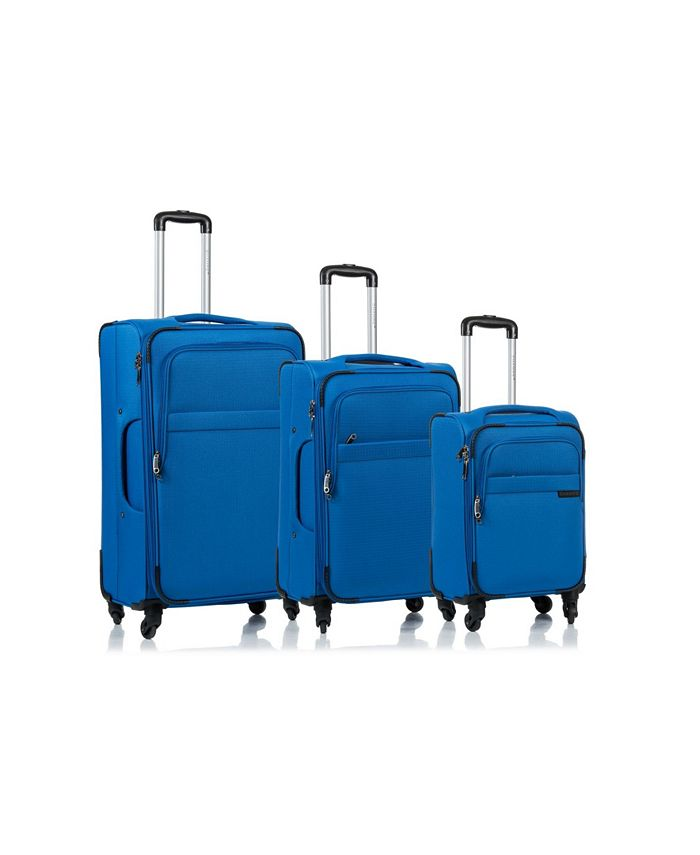 CHAMPS - 3-Pc. Brooklyn Softside Luggage Set