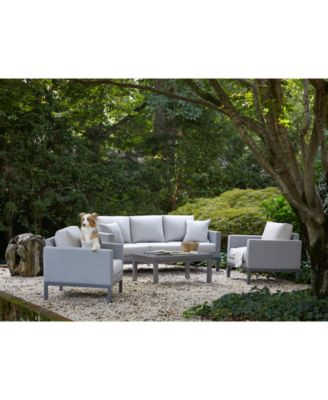 Carleese Outdoor Club Chair with Sunbrella® Cushions