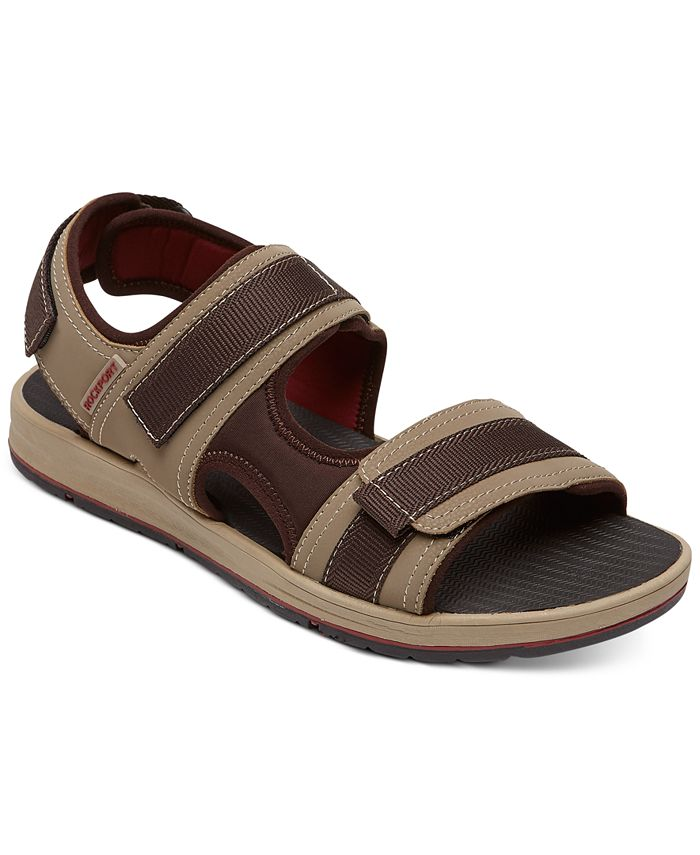 Rockport - Men's LB M Sport Three-Strap Sandals