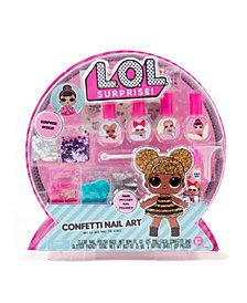 LOL Surprise Confetti Nail Art