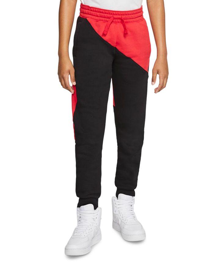 Nike - Big Boys Colorblocked Fleece Pants