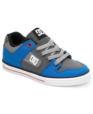 DC Shoes Kids Shoes Boys or Little Boys Pure Canvas Sneakers