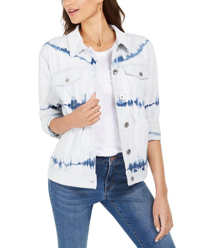 Style Co Vintage Denim Jacket Created For Macy S Reviews Jackets Blazers Women Macy S
